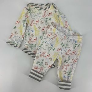 Hanna Andersson X Curious George Baby Outfit